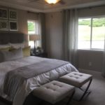 Master bedroom of the Yorktown model home by Richmond at Cobblestone Ranch in Parker Colorado
