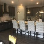 Kitchen of the Yorktown model home by Richmond at Cobblestone Ranch in Parker Colorado