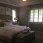Master bedroom of the Arlington model by Richmond at Cobblestone Ranch in Castle Rock Colorado