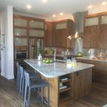 Kitchen of Signature 4 model by Brookfield Residential at Sterling Ranch in Littleton Colorado